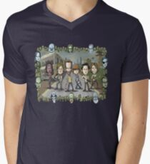 The Walking Dead by Kenny Durkin Men's V-Neck T-Shirt