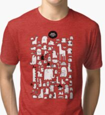 All the Beasts Imagined & Real Tri-blend T-Shirt