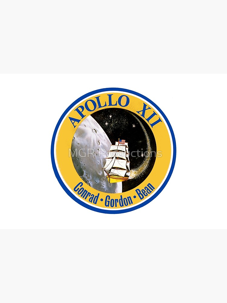 Apollo 12 Mission Logo by Quatrosales