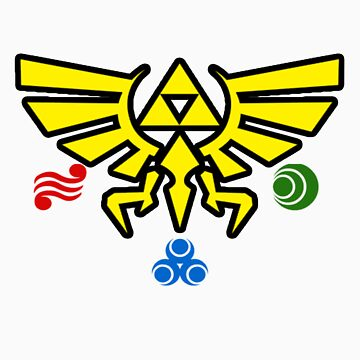 Zelda w/symbols by CutlineDesigns