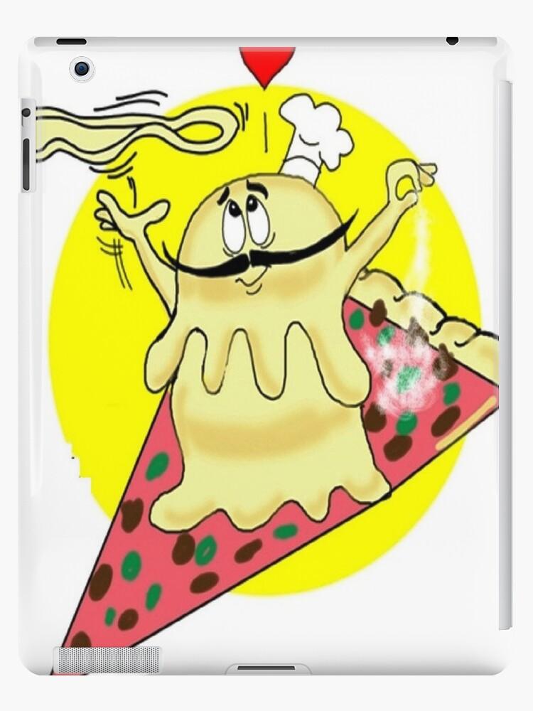 PIZZA CARTOON TABLET CASE by InspireCartoons