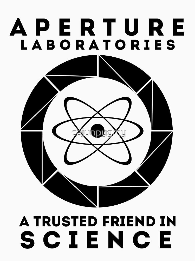 Aperture - Science Friend by cajunpygmy
