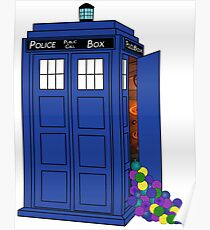 Police Box Yarn Box Poster