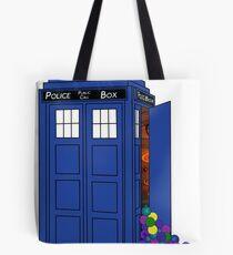 Police Box Yarn Box Tote Bag