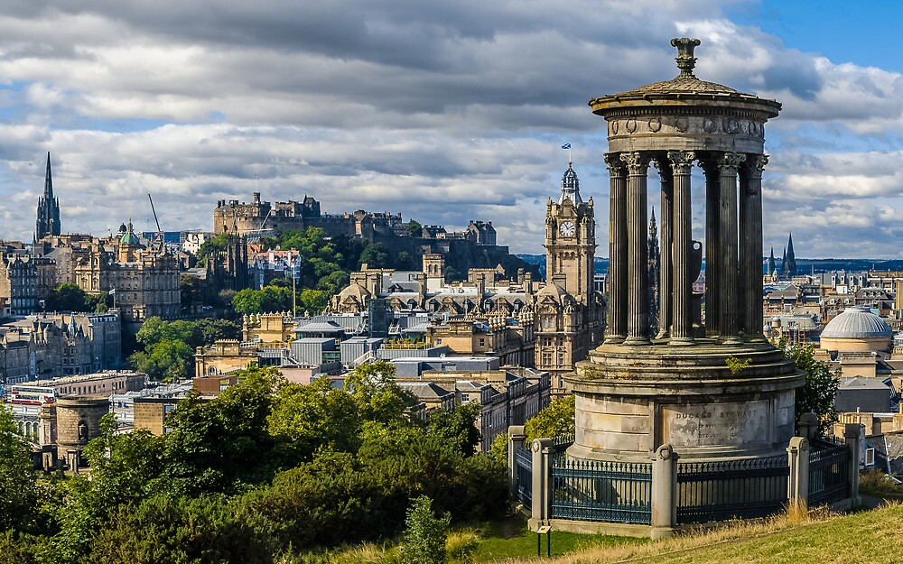 The classic Calton hill view by Graeme  Ross