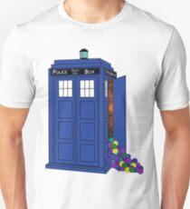 Police Box Yarn Box Unisex T-Shirt