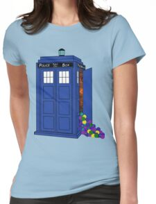 Police Box Yarn Box Womens Fitted T-Shirt