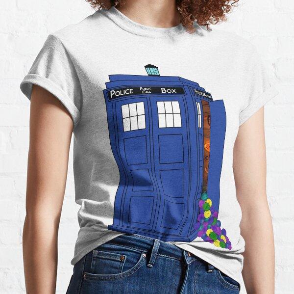 Police Box Yarn Box Classic T-Shirt