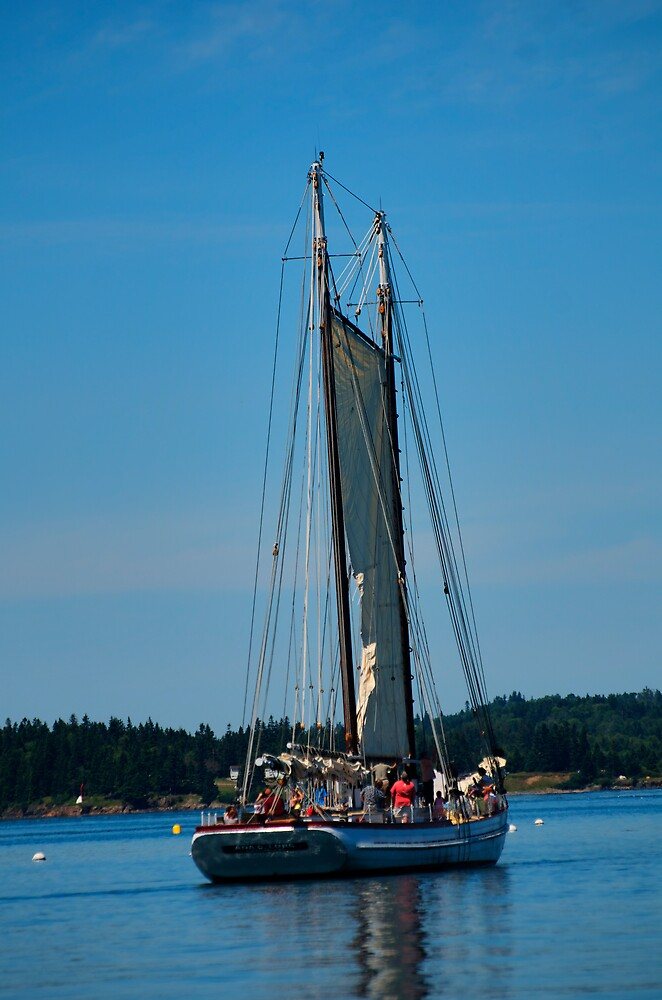 Sail over Lubec by jvoweaver