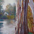 Goulburn River Gums by Lynda Robinson
