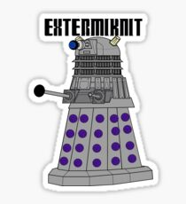 Extermiknit Sticker