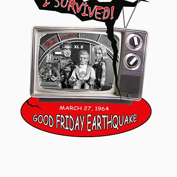 I SURVIVED!  GOOD FRIDAY EARTHQUAKE + XL5 by EDROMAXIMUS