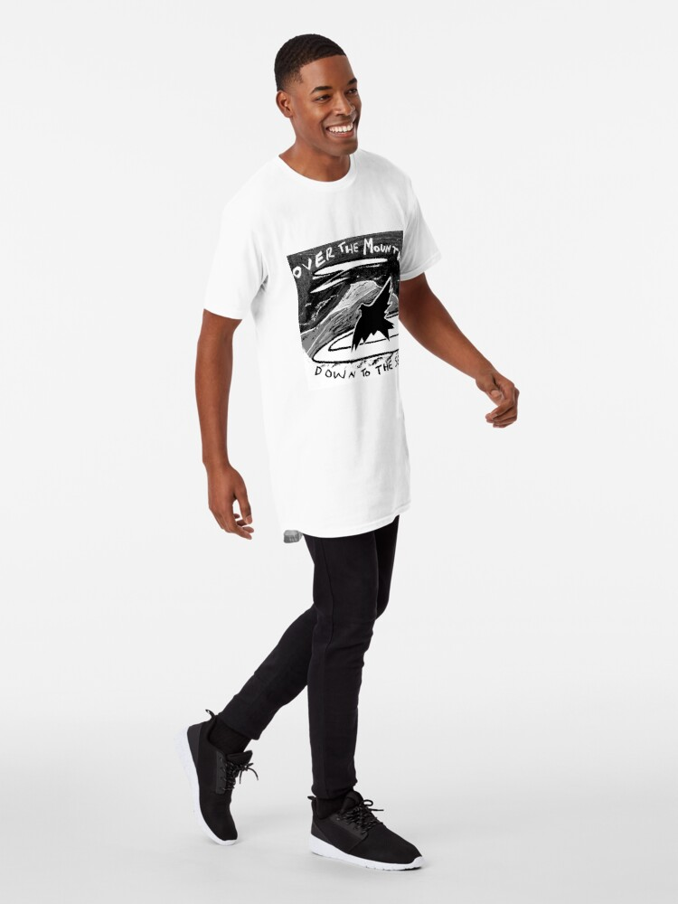 Alternate view of over the mountain Long T-Shirt