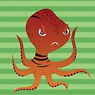 Tiger Squid by makoshark