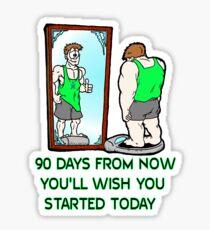 90 Day Challenge Sticker