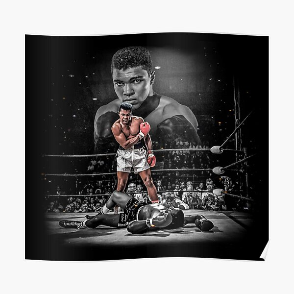 Fond d'écran Muhammad Ali Art Poster