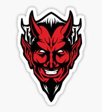 Devil Man Sticker