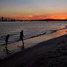 Sunset playtime von Celeste Mookherjee