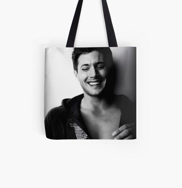 Jensen Ackles All Over Print Tote Bag