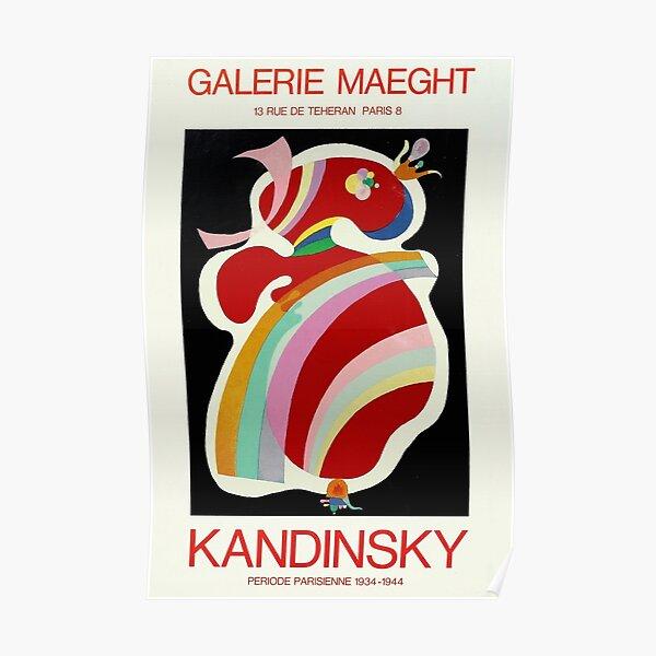 Wassily Kandinsky - Affiche d'exposition Poster