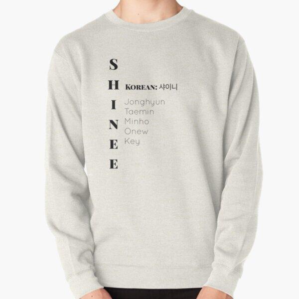 Nombres de miembros de Shinee Sudadera sin capucha