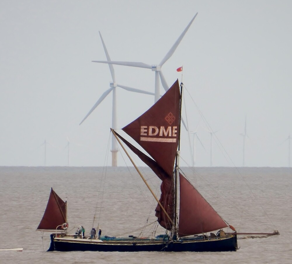 Thames Barge by TOFFS