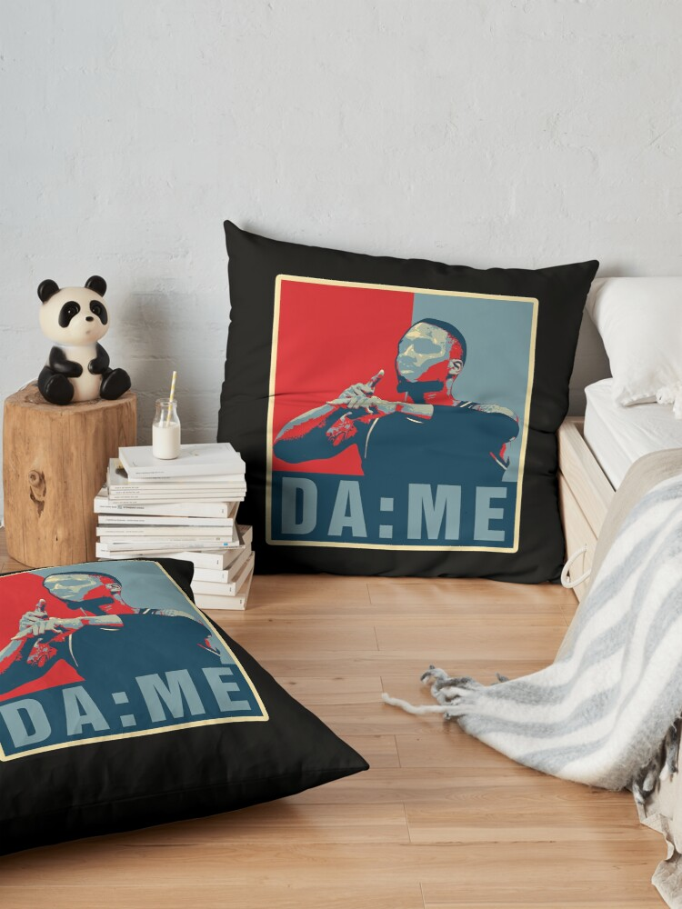 Alternate view of DAME TIME OBAMA STYLE Floor Pillow