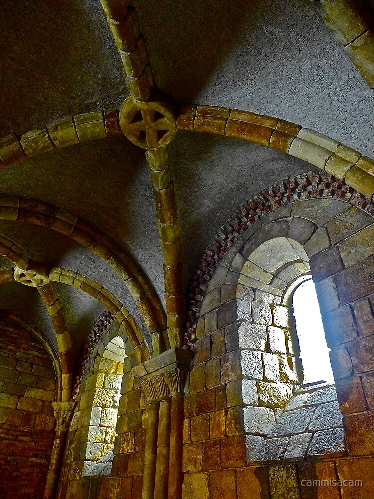 Cloisters ceiling and window detail by cammisacam