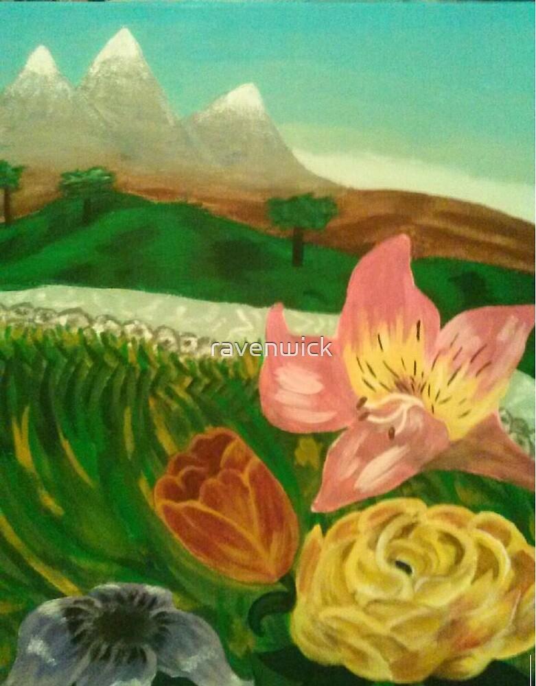 Mountain Greenery by ravenwick