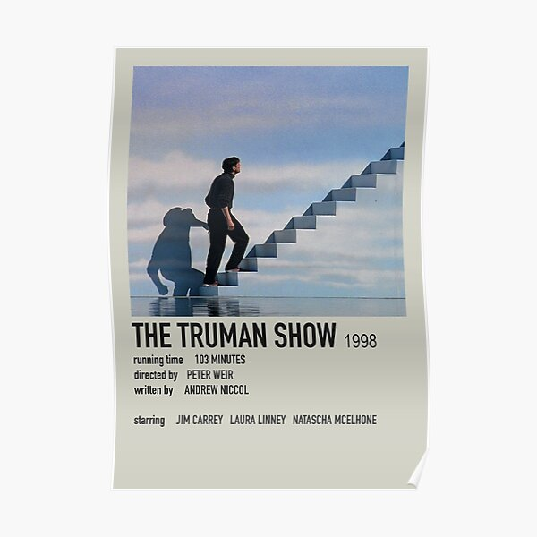 Le Polaroid du Truman Show Poster Poster