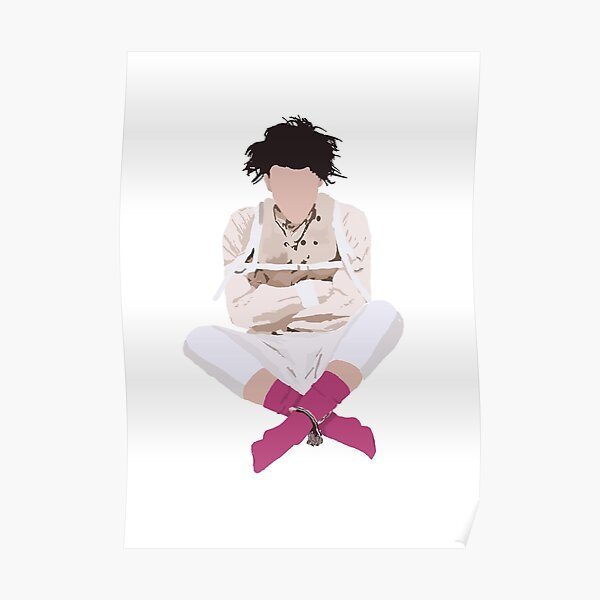 YUNGBLUD 21st century liability cover digital drawing Poster