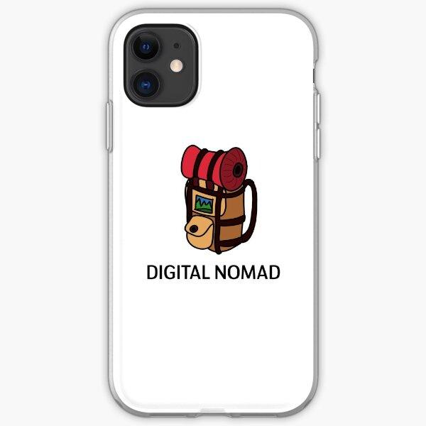 Nómada digital: diseño de mochila Funda blanda para iPhone
