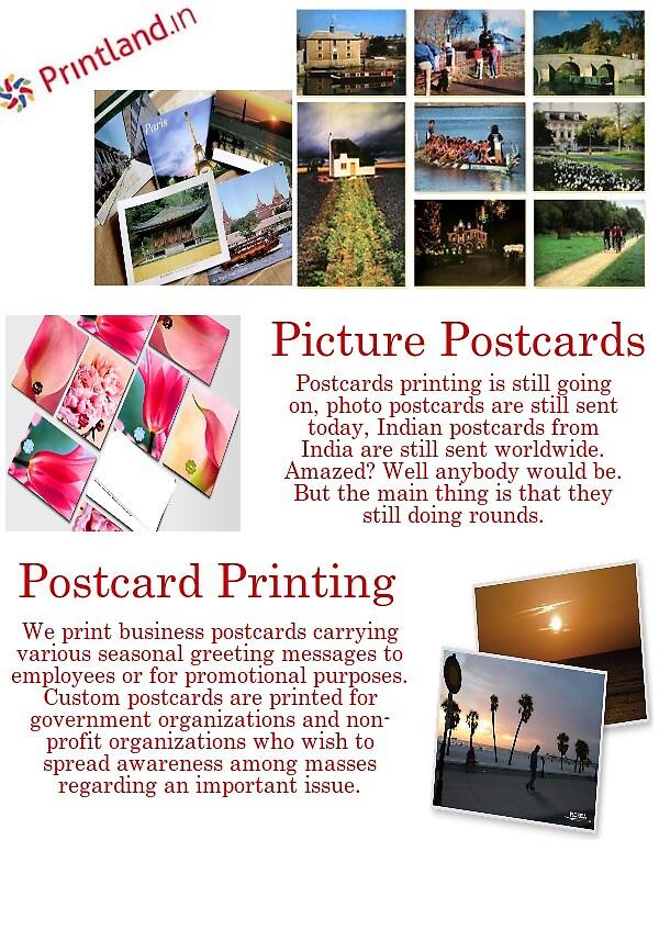Postcard Printing Services by sainnilam