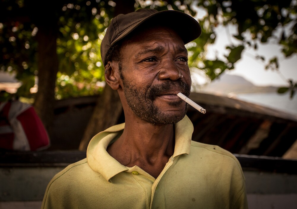 Worker Portrait: Alexander, Dominica by Cabot Trail Pathfinders