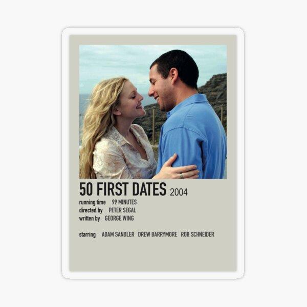 50 First Dates Polaroid Poster Transparent Sticker