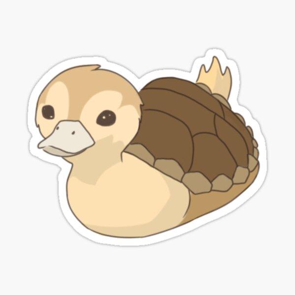 Avatar turtle duck Sticker