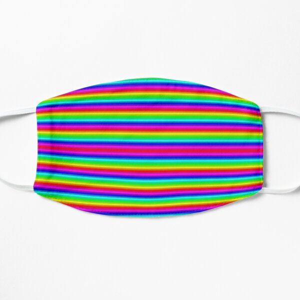 Psychedelic Hypnotic Visual Illusion Flat Mask