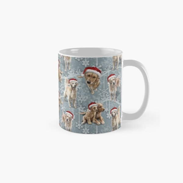 Golden Retriever Christmas Classic Mug