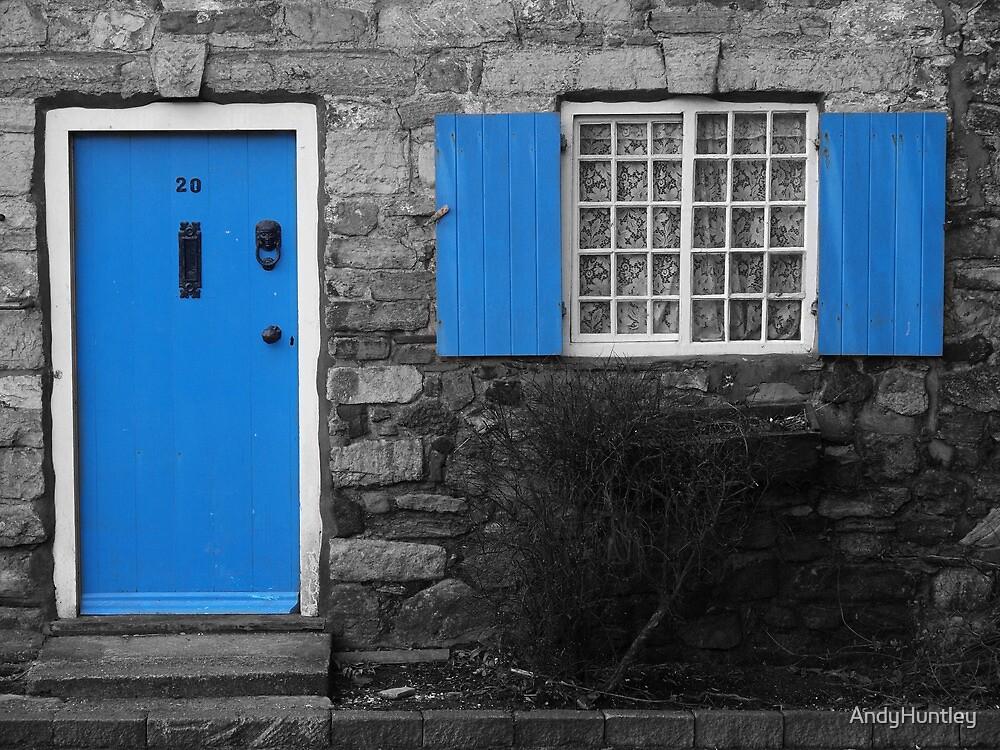 Blue Door by AndyHuntley