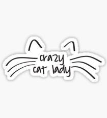 Pegatina Cat Lady