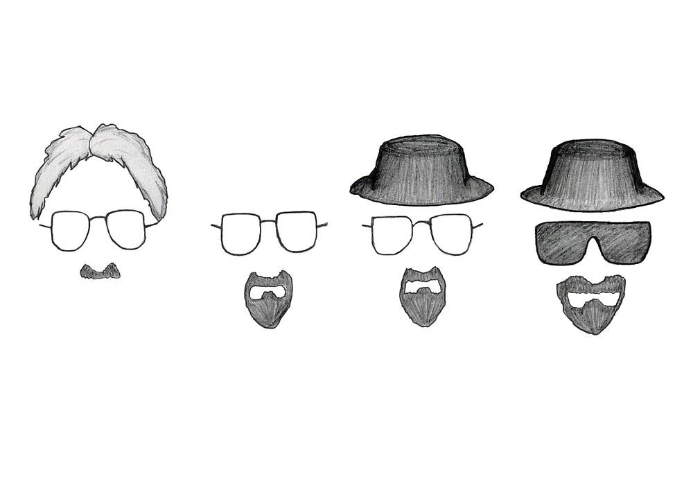 Walt to Heisenberg by Emma Watson