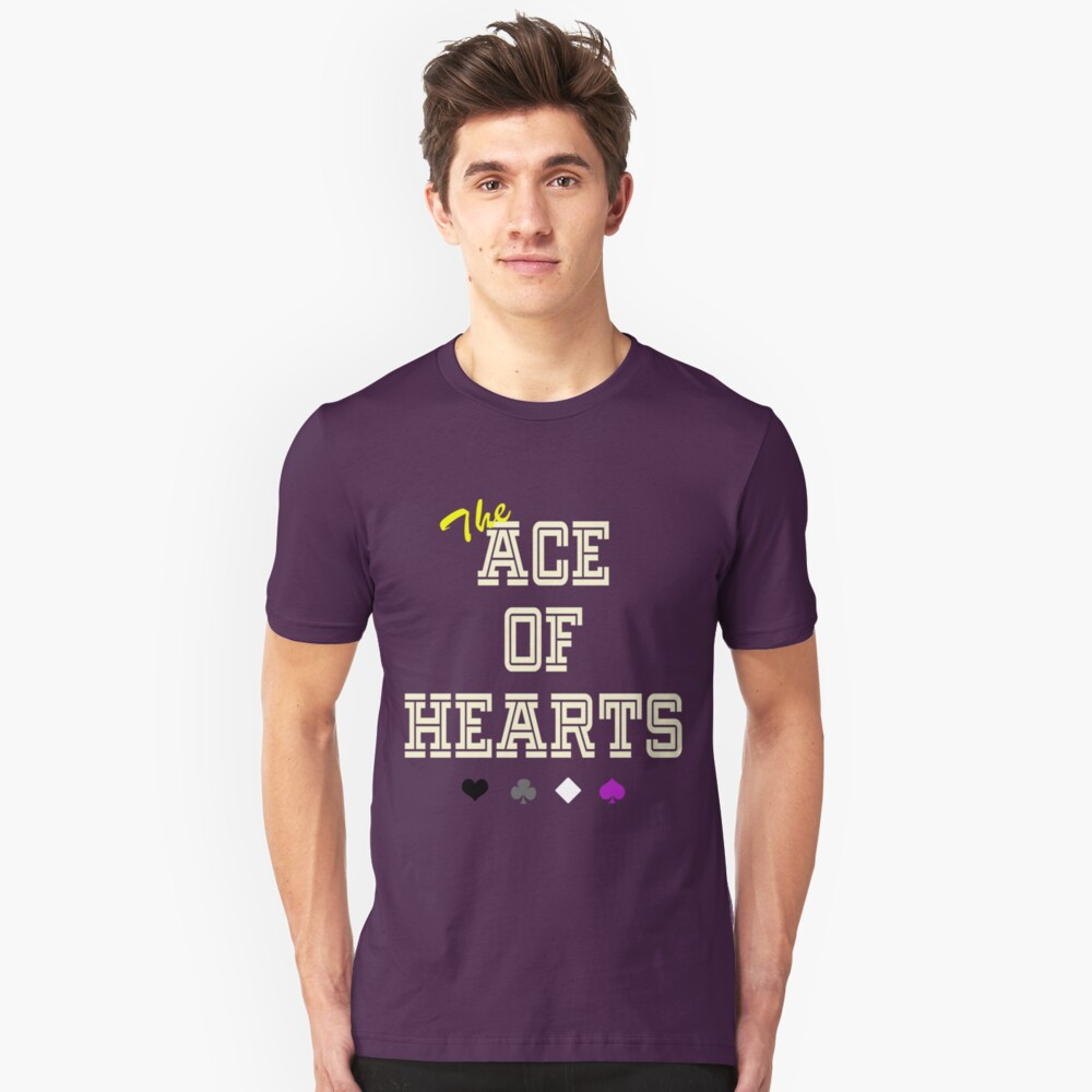 The Ace of Hearts Unisex T-Shirt Front