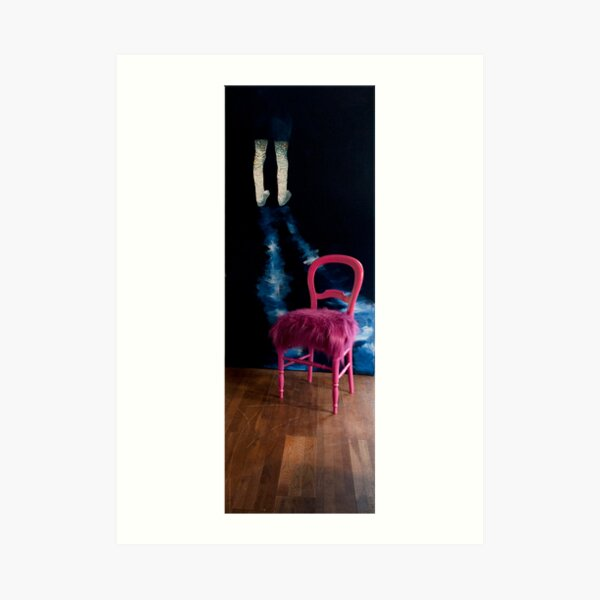 dontthink in situ, with pelican chair Art Print