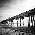 Johnnie Mercer's Fishing Pier  by NFirebaugh