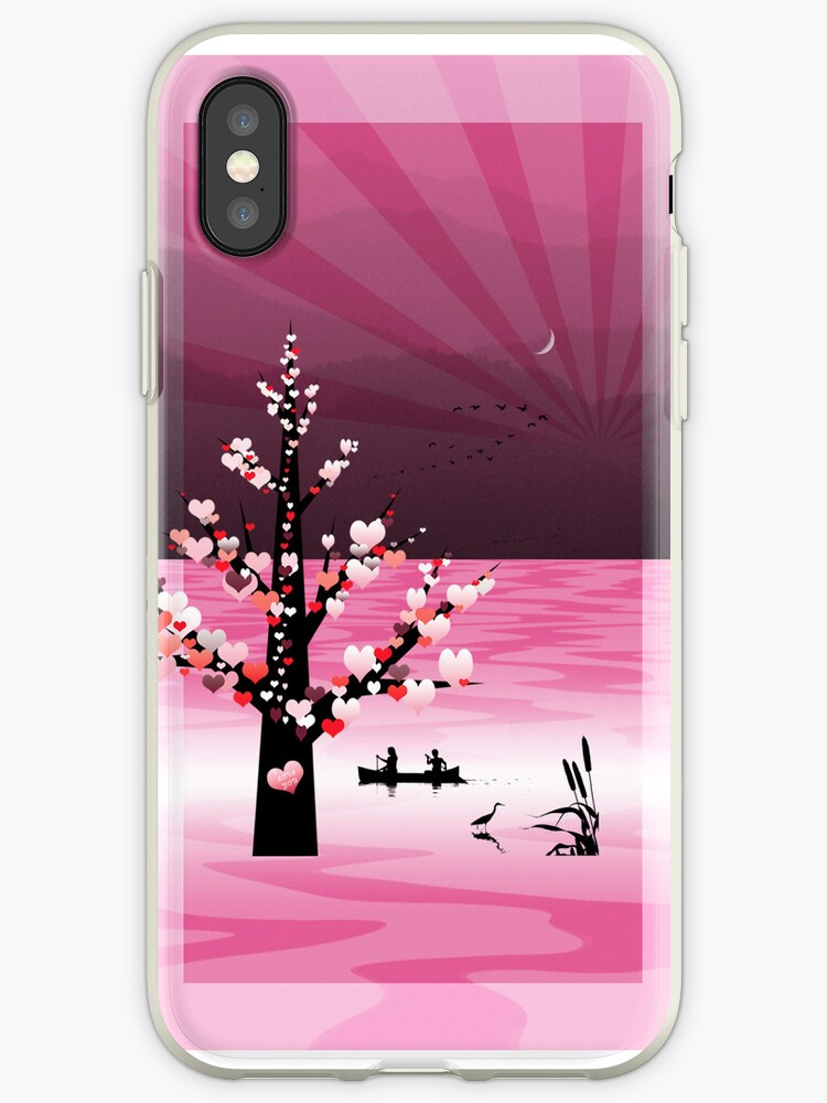 Phone case: Canoeing with your Valentine by Steven House