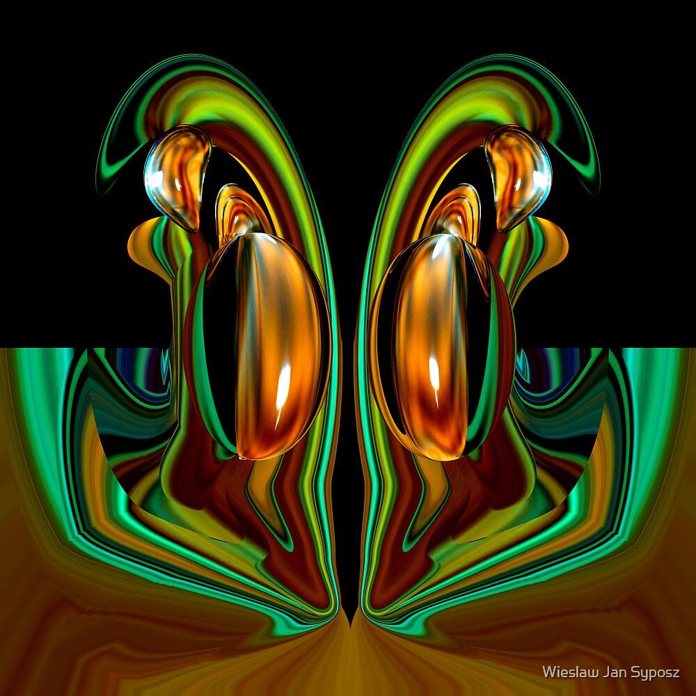 golden & emerald fantasy 1 by Wieslaw Jan Syposz