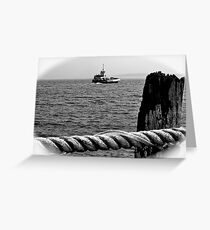 Prudence Island Ferry Greeting Card