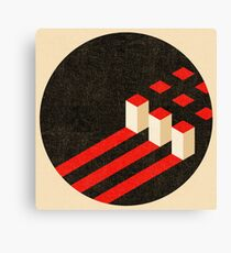 Constructivist Composition. Canvas Print