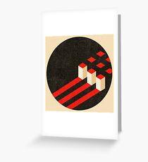 Constructivist Composition. Greeting Card
