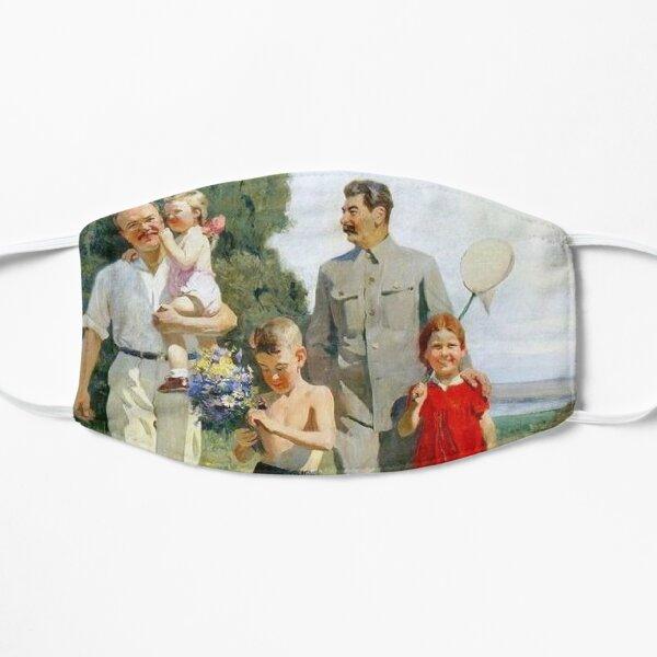 Stalin and Molotov with children, 1947. Artist: Yefanov, Vasili Prokofyevich (1900-1978) Stalins cult of personality #Сталин #ИосифВиссарионович #Ежов #Берия #Жданов #Молотов #Ленин #ГУЛАГ Mask